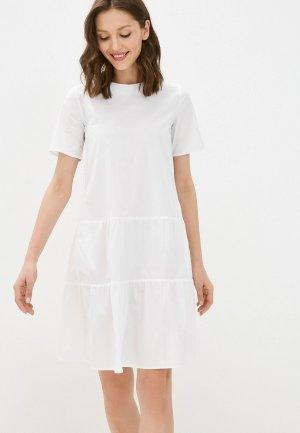 Платье Savage. Цвет: белый