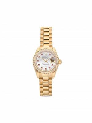 Наручные часы Datejust 26 мм 2001-го года Rolex. Цвет: белый