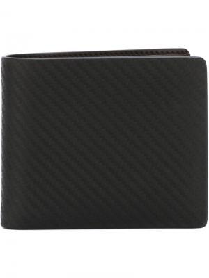 Классический бумажник Dunhill. Цвет: чёрный