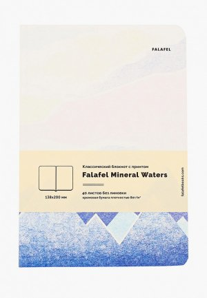 Блокнот Falafel. Цвет: белый