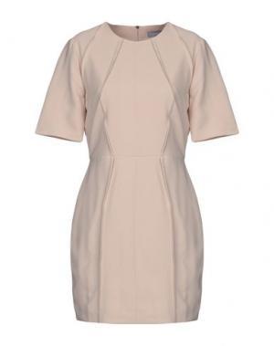 Короткое платье FINDERS KEEPERS. Цвет: бежевый