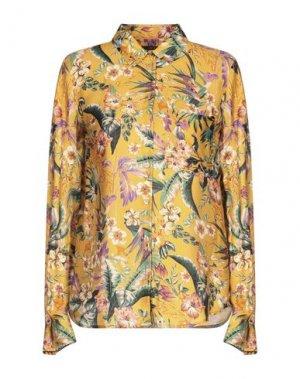 Pубашка SET. Цвет: желтый