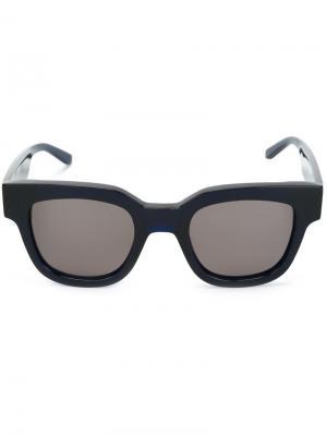 Солнцезащитные очки Type 05 Sun Buddies. Цвет: синий