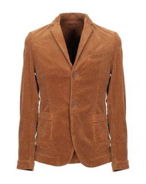 Пиджак KOON. Цвет: коричневый