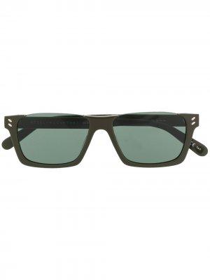 Солнцезащитные очки Sc0228s Stella McCartney. Цвет: зеленый