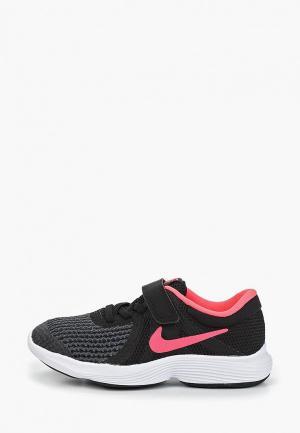 Кроссовки Nike GIRLS REVOLUTION 4 (PS) PRE-SCHOOL SHOE. Цвет: черный