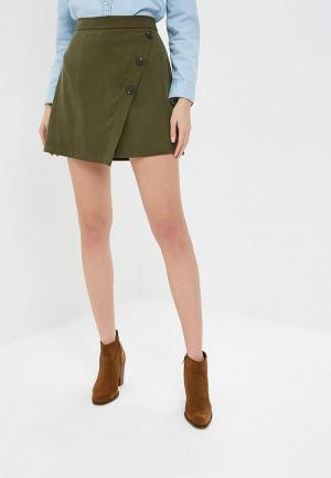 Юбка Banana Republic BELTED PENCIL SKIRT UTILITY POCKET. Цвет: хаки
