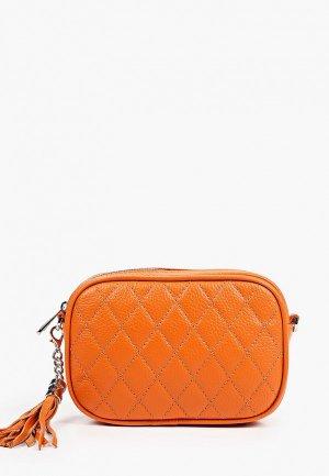 Сумка Fiato. Цвет: оранжевый