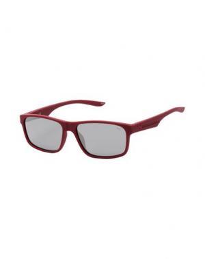 Солнечные очки PUMA. Цвет: красно-коричневый