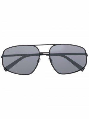 Солнцезащитные очки-авиаторы Givenchy Eyewear. Цвет: черный