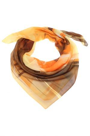 Платок F.FRANTELLI. Цвет: желтый, оранжевый, коричневый