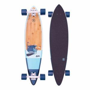 Комплект лонгборд Z-flex Bamboo Pintail. Цвет: синий