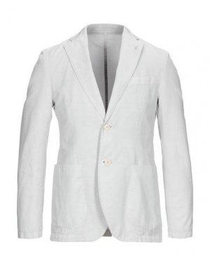 Пиджак SEVENTY SERGIO TEGON. Цвет: светло-серый
