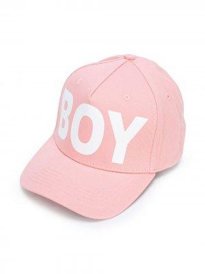 Кепка BOY London Kids. Цвет: розовый
