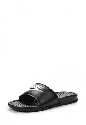 Сланцы Nike MENS BENASSI JUST DO IT. SANDAL. Цвет: черный