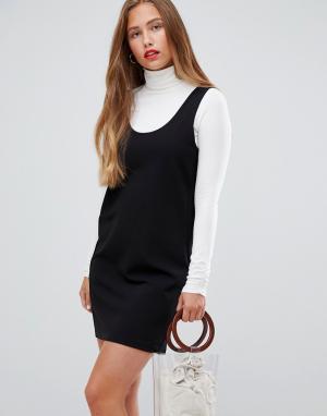 Платье-майка -Черный JDY