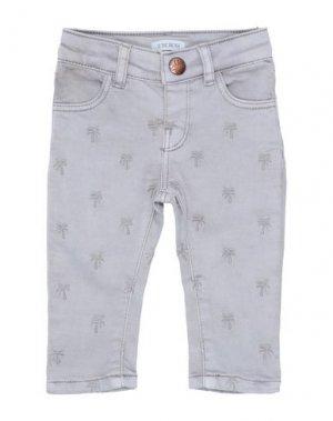 Джинсовые брюки IKKS. Цвет: светло-серый