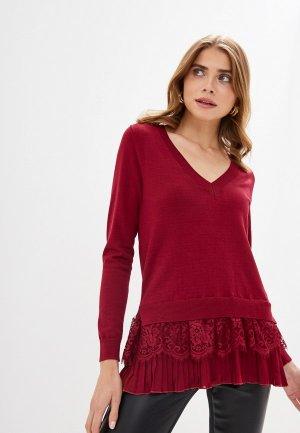 Пуловер Love Republic. Цвет: бордовый