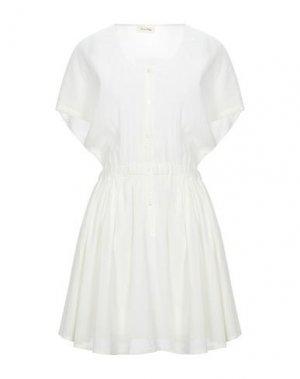 Короткое платье AMERICAN VINTAGE. Цвет: слоновая кость