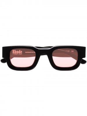 Солнцезащитные очки из коллаборации с Rhude Rhevision 101 Thierry Lasry. Цвет: красный