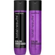 Шампунь и кондиционер для сохранения цвета окрашенных волос Total Results Color Obsessed Shampoo and Conditioner (300 мл) Matrix