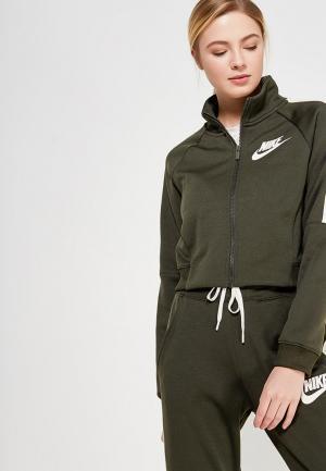 Олимпийка Nike W NSW N98 JKT PK. Цвет: хаки