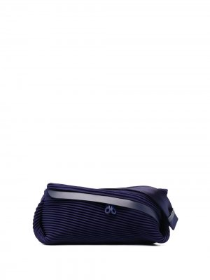 Поясная сумка Bias Pleats Please Issey Miyake. Цвет: синий