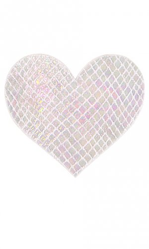 Накладки на соски whitesnake heart Bristols6. Цвет: белый