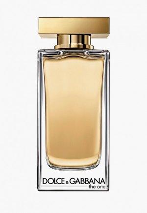 Туалетная вода Dolce&Gabbana The One, 100 мл. Цвет: желтый