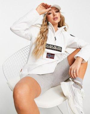 Белая куртка без застежки Rainforest Sum 3-Белый Napapijri