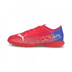Детские бутсы ULTRA 4.3 TT Youth Football Boots PUMA. Цвет: розовый