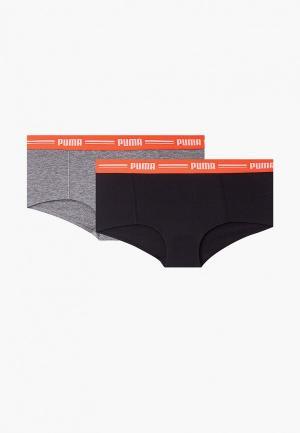 Комплект PUMA ICONIC MINI SHORT 2P. Цвет: разноцветный
