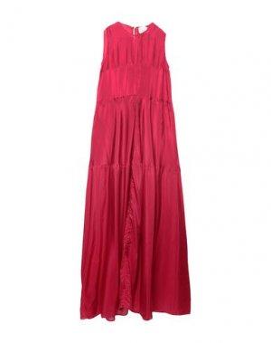 Длинное платье ON THE ISLAND by MARIO SCHWAB. Цвет: пурпурный
