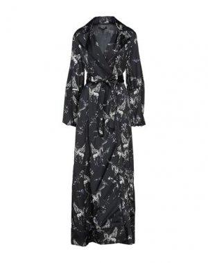 Длинное платье BABYLON. Цвет: черный