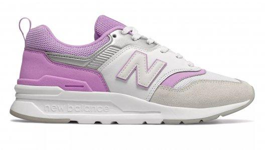 Кроссовки 997 New Balance. Цвет: фиолетовый