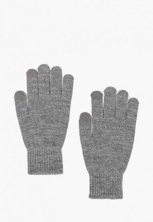 Перчатки Jack & Jones. Цвет: серый