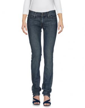 Джинсовые брюки HABITUAL. Цвет: синий