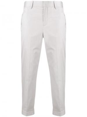 Классические брюки кроя слим Neil Barrett