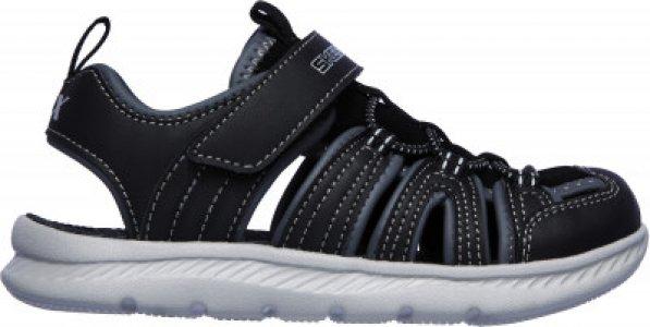 Сандалии для мальчиков C_Flex Sandal 2.0, размер 31.5 Skechers. Цвет: черный