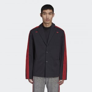 Блейзер 424 Originals adidas. Цвет: черный