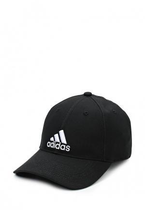 Бейсболка adidas 6P CAP COTTON. Цвет: черный