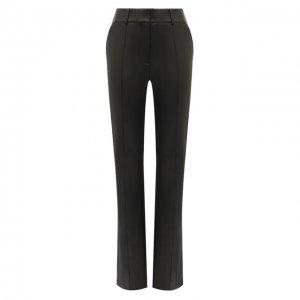 Кожаные брюки Alexander Wang. Цвет: чёрный