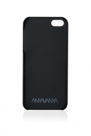 Чехол для iPhone 5/5S ANYAVANYA. Цвет: черный