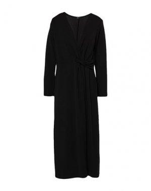 Короткое платье HANITA. Цвет: черный