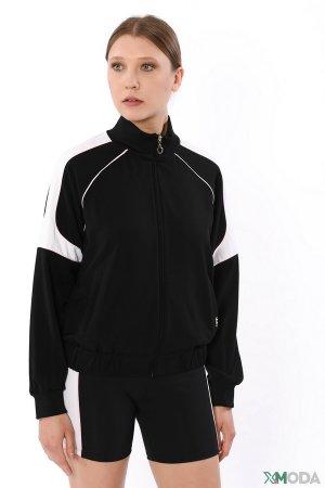 Ветровка Liu-Jo Jeans. Цвет: чёрный