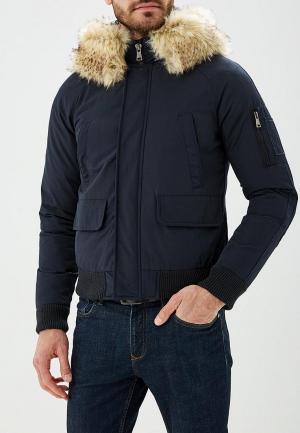 Куртка утепленная MTX. Цвет: синий