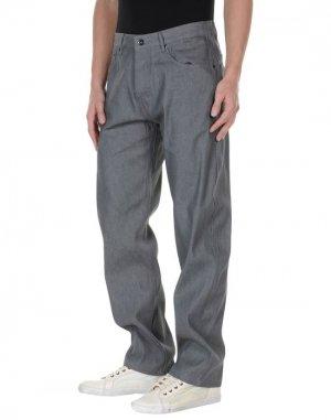 Джинсовые брюки FRESHJIVE. Цвет: серый