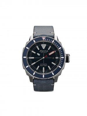 Наручные часы Seastrong Diver 300 44 мм Alpina. Цвет: blue