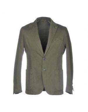Пиджак EXIGO. Цвет: зеленый-милитари