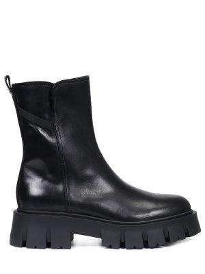 Ботинки кожаные на меху PREMIATA